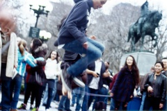 Untitled, Washington Square Park, 2009